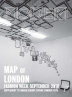 Modem Map Map London W's Sep.18