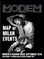 Modem Map Map Milano W's Sep.18