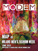 Modem Map Milano Men's June 19