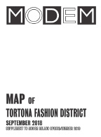 Modem Map Milano W's Tortona Sep.18