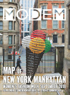 Modem Map Map N.Y. Sep.18
