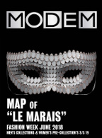 Modem Map Map Paris Le Marais M's June 18
