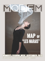 Modem Map Map Paris Le Marais W's Sep.18