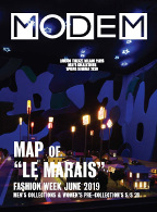 Modem Map Map Paris Le Marais M's June 19