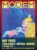 Modem Map Map Paris Tuileries W's Sep.19