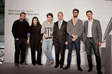 france paris ne l beloufa audi talents awards art contemporain 2011 modem mag. Black Bedroom Furniture Sets. Home Design Ideas