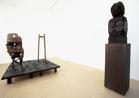 "Huma Bhabha, Galerie Nathalie Obadia, Paris"" (Gallery II), April- may 2009"", Courtesy Galerie Nathalie Obadia, Paris-Brussels"