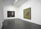 Pieter Schoolwerth, Portraits of Paintings, Galerie Nathalie Obadia, Paris, March - May 2010